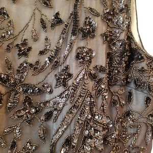 Amazing beaded evening gown, sz 6 Adrianna Papell